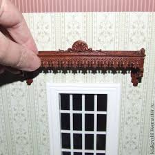 Cornice Curtains Buy Miniature 1 12 Cornice For Curtains In A Doll House On