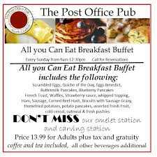 Post Office Thanksgiving Hours The Post Office Pub Home Facebook