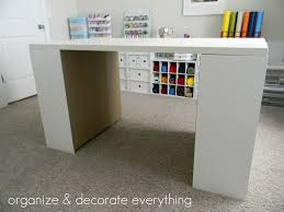 craft desk with storage unit artwork writing corner l shaped