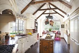 Vaulted Ceiling Open Floor Plans Vaulted Ceiling Exposed Beam Living Room Contemporary With Open