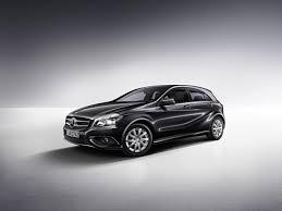 mercedes a class black mercedes introduces the a class blueefficiency edition automotorblog