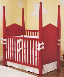 Bratt Decor Crib Discovered Red Cribs Room For Young Ones