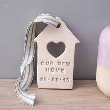personalised new home gift by kate charlton ceramics