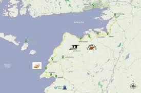 Ryanair Route Map by My Irish Guideatlantic Drive Galway Clare My Irish Guide