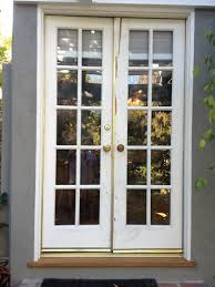 Exterior Single French Door by Patio Double Doors Patio Furniture Ideas