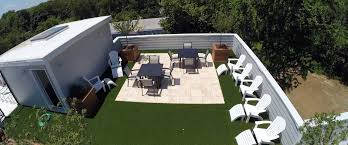 install artificial grass for your roof deck u0026 patio in new jersey