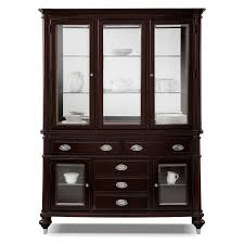 Value City Furniture Dining Room by Furniture Hutch Allegro Buffet And Hutch Platinum Value City