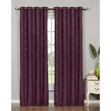 Purple Drapes Or Curtains Purple Curtains Drapes Window Treatments The Home Depot