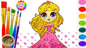 princess fashion coloring page how to draw dress and coloring