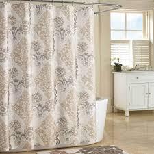 bathroom shower curtains ideas bathroom shower curtain ideas gray yellow shower curtain navy ikat