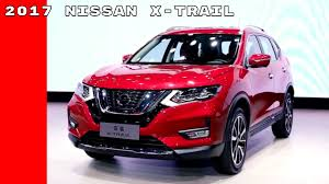 buy nissan x trail australia 2017 nissan x trail with intelligent mobility at auto shanghai