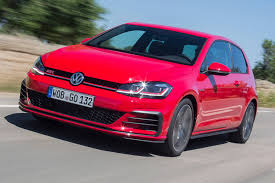 red volkswagen golf vw golf gtd estate 2017 review by car magazine