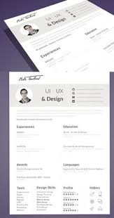 Cv Resume Template Free Nice 15 Best Free Resume Cv Templates Psd Professionally