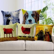 Home Decor Throw Pillows by Online Get Cheap Decorative Dog Pillows Aliexpress Com Alibaba