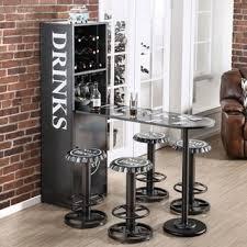 Vegas Storage Bar Table Spyra Led Light Up Bar Table Free Shipping Today Overstock Com