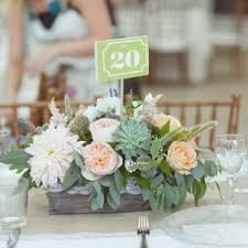 rustic center pieces rustic succulent wedding centerpieces