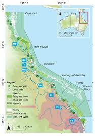 Great Barrier Reef Map Remote Sensing Free Full Text Estimating The Exposure Of Coral