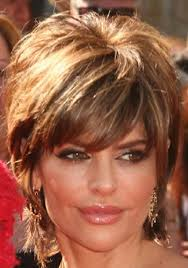 lisa rinna hair styling products short shag haircuts front and back actress lisa rinna s short