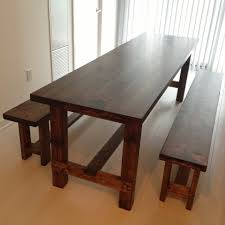 farm tables with benches farmhouse table reveal plans storefront life