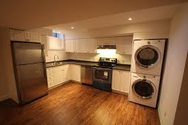 fabulous design basement apartment ideas features built in white