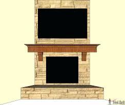 How To Build Fireplace Mantel Shelf - build fireplace mantel shelf your own u2013 apstyle me