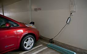 red nissan 2012 2012 nissan leaf charging at work photo 40747073 automotive com
