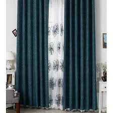 Hotel Room Darkening Curtains Modern Green Solid Room Darkening Hotel Curtains