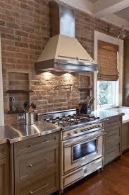 decorating ideas for kitchen walls modern kitchen decor with brick walls 25 interior decorating ideas