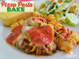 pasta bake recipes pizza pasta bake the country cook