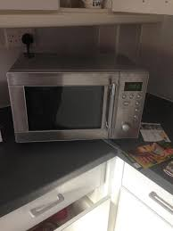 Sainsburys Kitchen Collection Sainsbury U0027s Steel Silver Microwave In Chepstow Monmouthshire