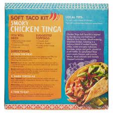 sermes cuisine el paso restaurante chicken tinga taco kit 395g amazon co