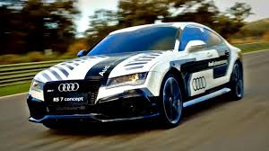 audi racing racing the audi rs7 piloted driving concept fifth gear youtube