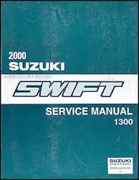 2000 suzuki swift 1300 repair shop manual original