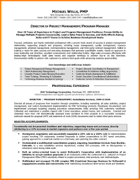 Resume Sample Program Manager by Sample Project Manager Resumes Free Resume Example And Writing