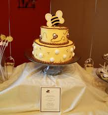 photo bee themed baby shower image