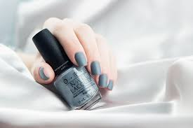 opi matte top coat and opi embrace the gray swatch by temperani