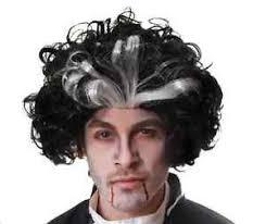 Sweeney Todd Halloween Costumes Black U0026 White Sweeney Todd Wig Halloween Dracula Vampire Fancy