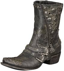 women s cruiser motorcycle boots lane western boots womens high plains cruiser studded black