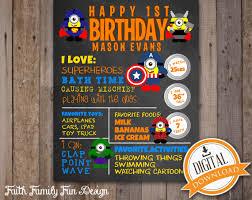 Superhero Invitation Card Superhero 1st Birthday Invitations Iidaemilia Com