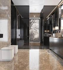 bathroom tile ideas rustic wood shelving above toilet white hairy
