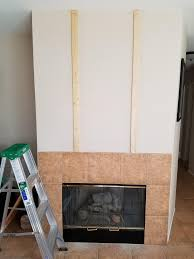 my attempt at a shiplap fireplace album on imgur