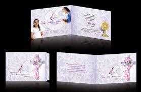 Invitation Card For Holy Communion C U0026 O Ad Ventures First Holy Communion Invitation Card