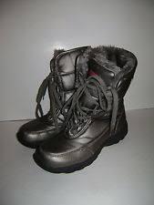 s khombu boots size 9 khombu flurry gray womens shoes size 9 m boots ebay
