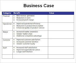 business case template exol gbabogados co