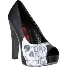 Skull High Heels Skull Heels Shop For Skull Heels On Polyvore