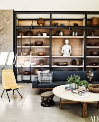 Two Tone Living Room Walls by Ryan Murphy U0027s Brilliant Beach House Architectural Digest Beach