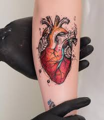 the 25 best anatomical heart tattoos ideas on pinterest