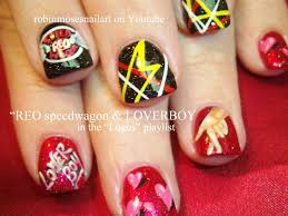 loverboy u0026 reo speedwagon nail art youtube