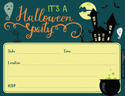 halloween potluck invitations halloween printable etsy