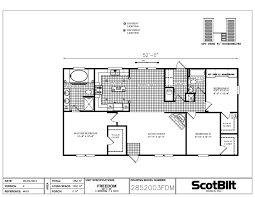 freedom 2852003 3 bedroom 2 bathroom 28 u2032 x 56 u2032